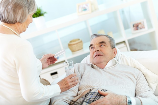 Medicare costs - Senior with health condition taking medicine